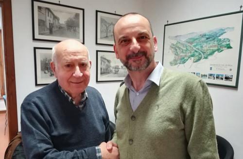 Prof. Garro Presidente Onorario; Sebastiano Renna, Presidente